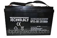 Аккумулятор мультигелевый TECHNOLOGY NP12-100Ah 12V 100AH