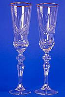 Хрустальные свадебные бокалы №3