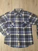 Рубашка байковая для мальчика р.158 Glo Story