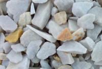 Крошка «Кварц Бело-желтый»,  фракция 10-20 мм, 40 кг