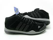 Кроссовки зимние Adidas Anzit черные мужские  кроссовки адидас
