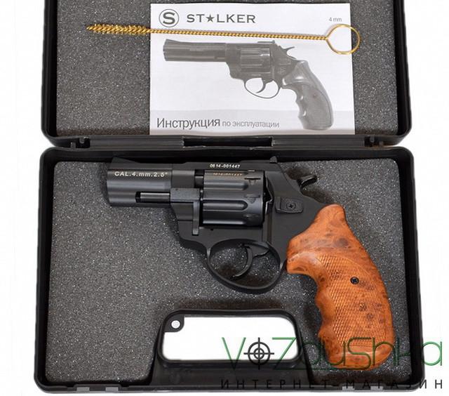 ревоьвер флобера сталкер в кейсе с ершом и документами