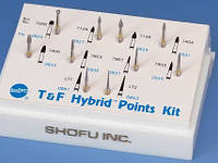 Набор T&F Grit Hybrid Point Kit,  SHOFU