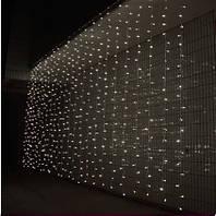 Гирлянда светодиодная штора 3х1,5 м  480 LED, фото 1