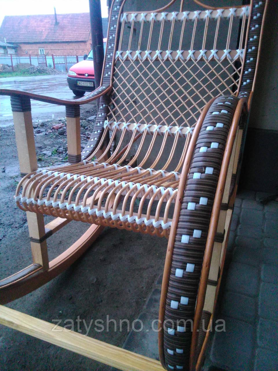 Качалка кресло ротанговое на подарок