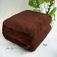 Плед из микрофибры Шоколад, 160*210, 200*220, Польша