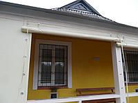 Непрозрачные шторы Пвх на террасу