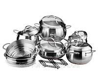 Набор посуды Vinzer Fine Majestic 89035 (14 предметов)