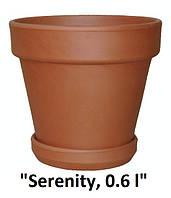 Горшок гладкий «Serenity», 0.6 л, Ø 12см