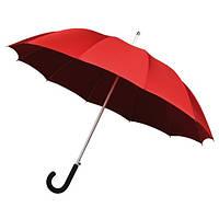 Зонт-трость автомат 12 спиц стекловолокно красный Impliva(Голландия)GA320.8027