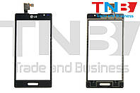 Сенсор LG P760 Optimus L9 Черный ОРИГИНАЛ