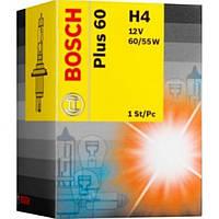 Автомобильная лампа Bosch Plus 60 H4 12V 60/55W (1987302049)