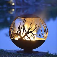 Очаг «Аквариум» (сфера), 90 см