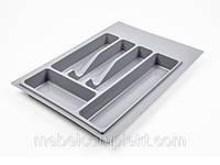 Лоток для кухонных приборов шир. 340 мм серый Volpato