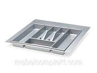 Лоток для кухонных приборов шир. 440 мм серый Volpato