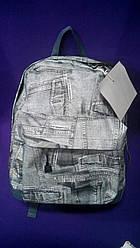 Рюкзак женский молодежный Джинс
