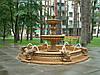 Бассейн для фонтана с вазами (большой), ∅300 см
