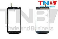 Сенсор LG D325 Optimus L70 Dual SIM Черный ОРИГ