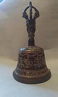 Тибетский поющий колокол Дрильбу