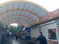 Металло-конструкции для торговых площадей