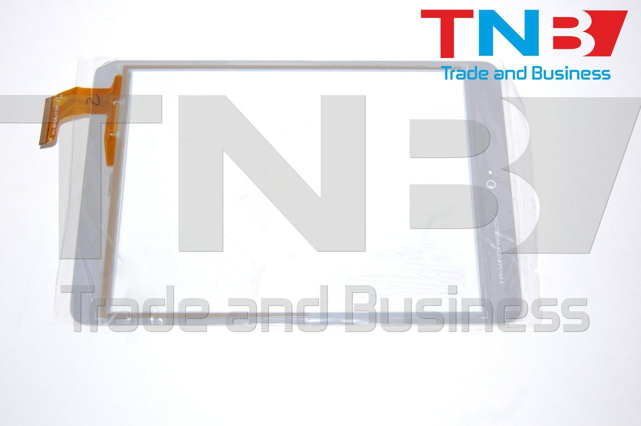 Сенсор 198x133mm FPC-CTP-0785-011-1 БЕЛЫЙ
