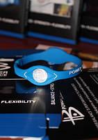 Power Balance энергетический браслет светло синего цвета размера S, M, L (Уценка 50%)