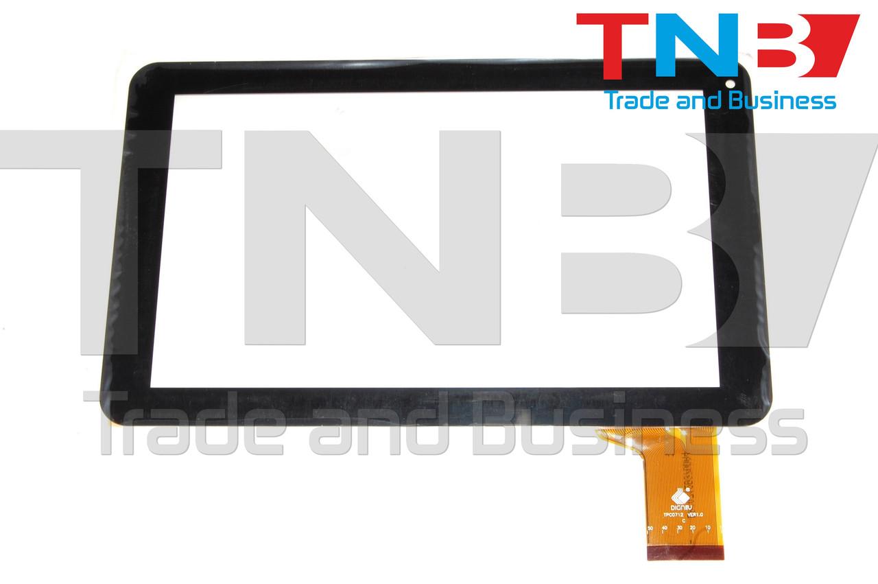 Сенсор 233x143mm 50pin FPC-FC90S098(D90) Черный