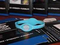 Power Balance энергетический браслет голубого цвета размеры XS, L