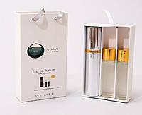 Bvlgari Aqva pour Homme мини парфюмерия в подарочной упаковки 3х15ml