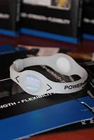 Power Balance силиконовый энергетический браслет прозрачный с черными буквами размеры XS