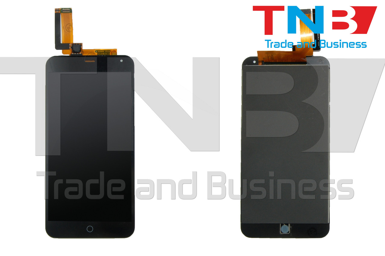 Сенсор + матрица Meizu M1 Note Черный ОРИГИНАЛ