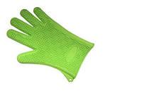 Силиконовая перчатка пятипалая
