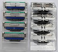 Картриджи Gillette Mach3 Turbo  Оригинал 4 шт из большой упаковки производство Польша