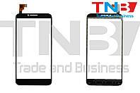 Сенсор Alcatel One Touch Idol 2 6037K Черный ОРИ