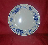 "Тарелка обеденная керамика 20.5 см ""Синяя роза"""