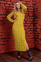Платье вязанное Лало длинное