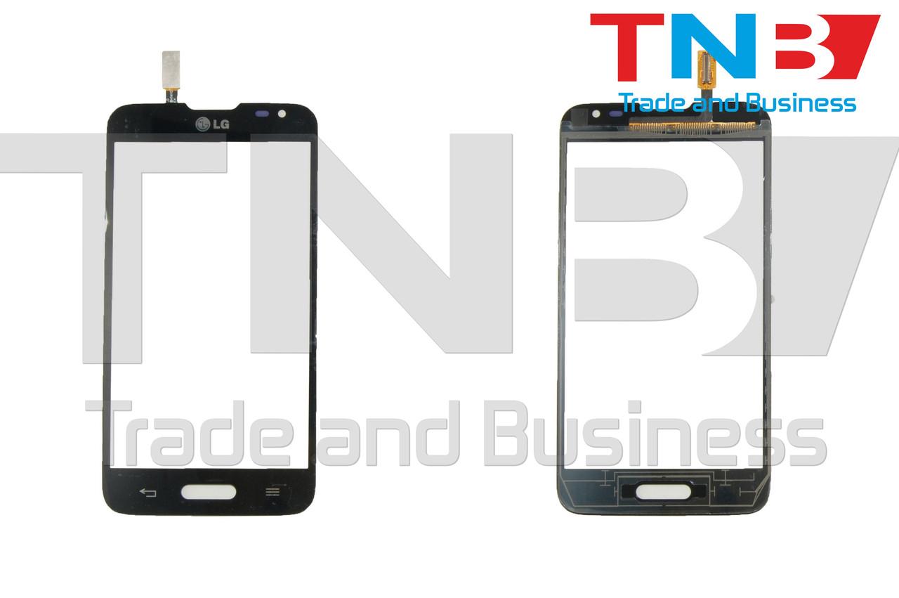Сенсор LG MS323 Optimus L70 Черный ОРИГИНАЛ