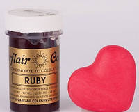 Краска паста Sugarflair Рубин, фото 1