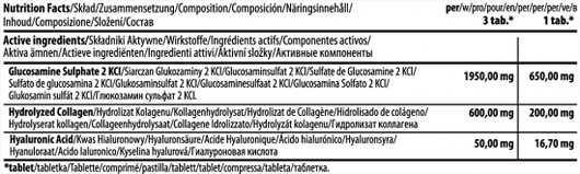 Восстановитель связок и суставов Glucosamine SPORT Complex - 180 капсул