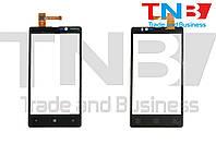 Сенсор NOKIA Lumia N820 Черный ОРИГИНАЛ