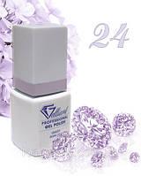 "Гель-Лак №024 Lilac Pink (розово-сиреневый) UV/LED ""Gelliant"" 9 мл."