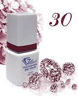 "Гель-Лак №030 Deep Cherry (глубокий вишневый) UV/LED ""Gelliant"" 9 мл."