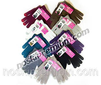 Перчатки унисекс шерстяные одинарные с начёсом Tech Touch Корона, для смартфонов, ассорти, 7076