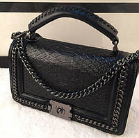 Современная женская сумка Chanel Le Boy. Хорошее качество. Практичная сумка. Молодежный стиль. Код: КДН1045