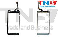 Сенсор HTC Butterfly X920E Черный