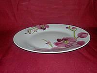 """Тарелка десертная керамика 17.5 см """"Орхидея"""""""