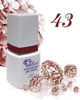 "Гель-Лак №043 Bold Red (насыщенный красный) UV/LED ""Gelliant"" 9 мл."