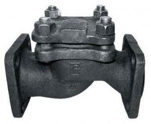 Клапан обратный подъёмный фланцевый 16кч9п (бр,р, нж)