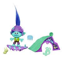 DreamWorks Быстрый скейт Цветана Trolls Branch's Skate 'n Skitter Story Pack