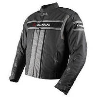 Adrenaline Sport Black/Grey, S Мотокуртка текстильная, фото 1